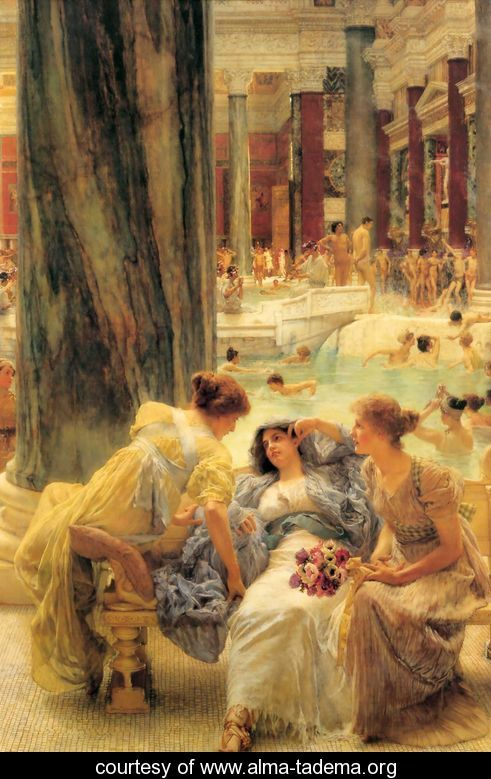 The Baths of Caracalla, Sir Lawrence Alma-Tadema, 1899
