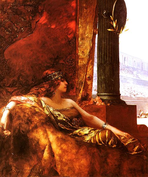 L'Imperatrice Theodora au Colisée, Jean-Joseph Benjamin-Constant