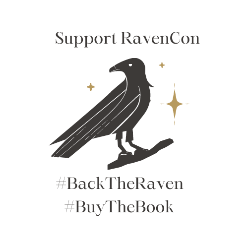 Art of a raven; #BackTheRaven #BuyTheBook
